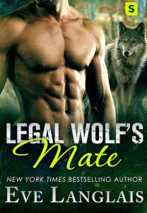 Book Cover: Legal Wolf's Mate