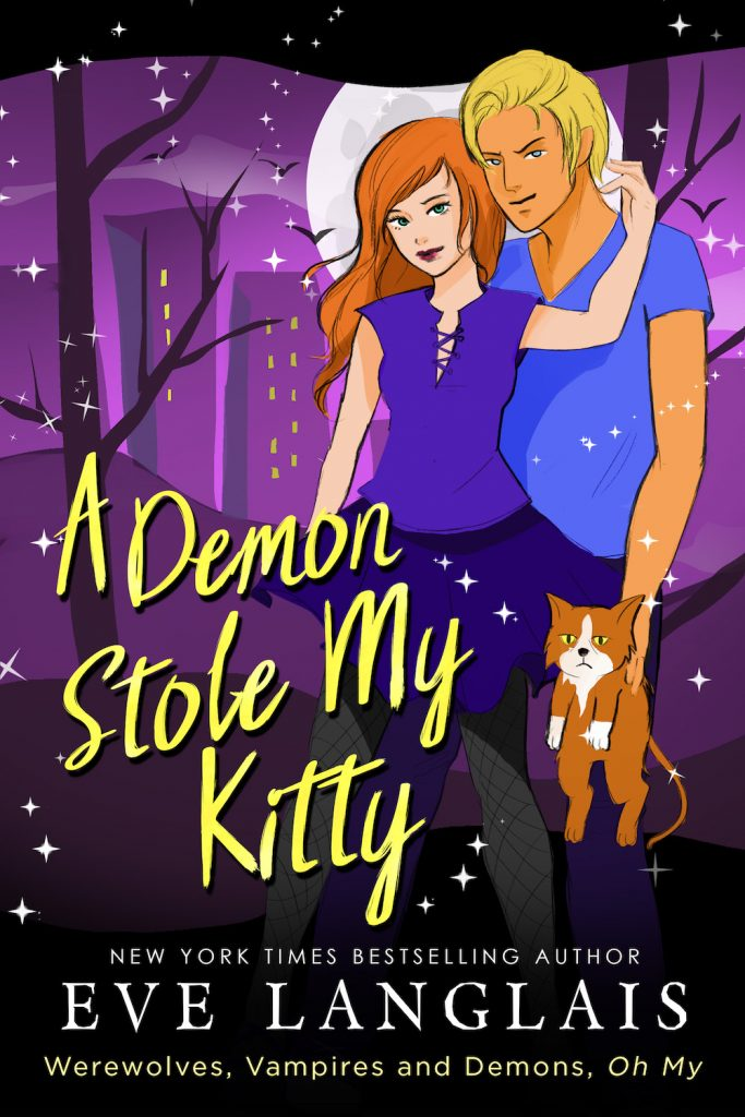 Book Cover: A Demon Stole My Kitty