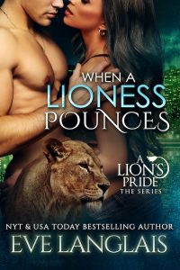 Book Cover: When a Lioness Pounces