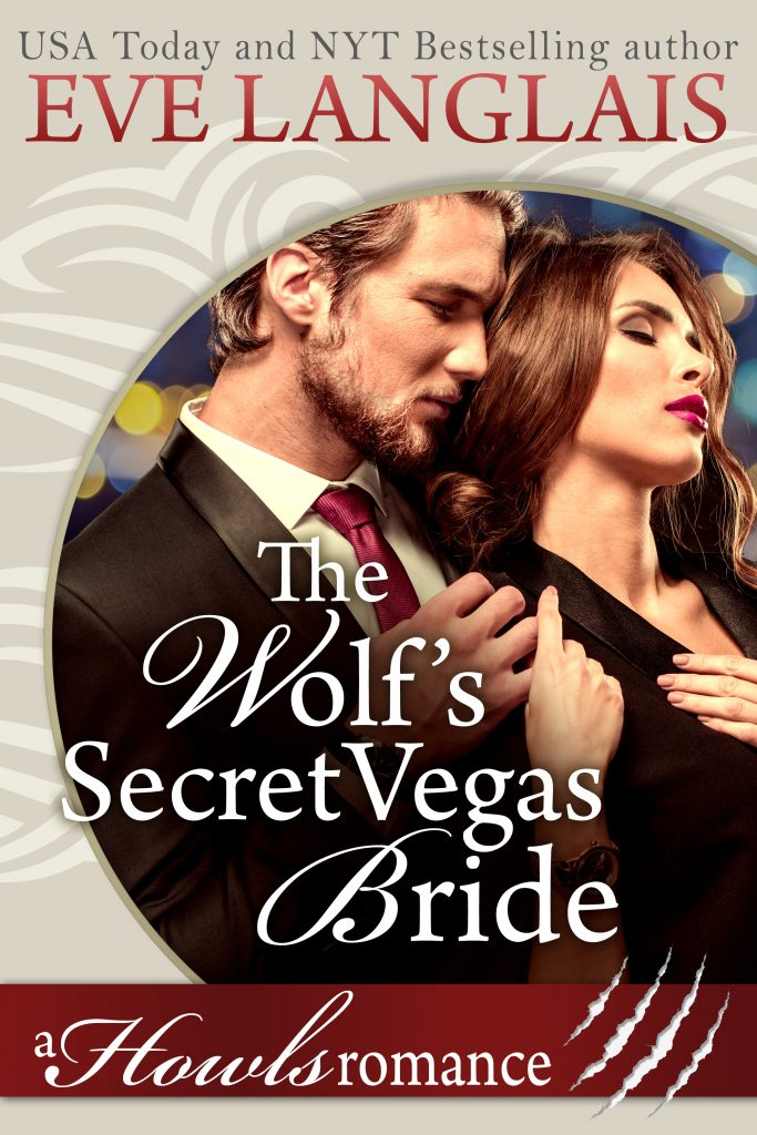 Book Cover: The Wolf's Secret Vegas Bride