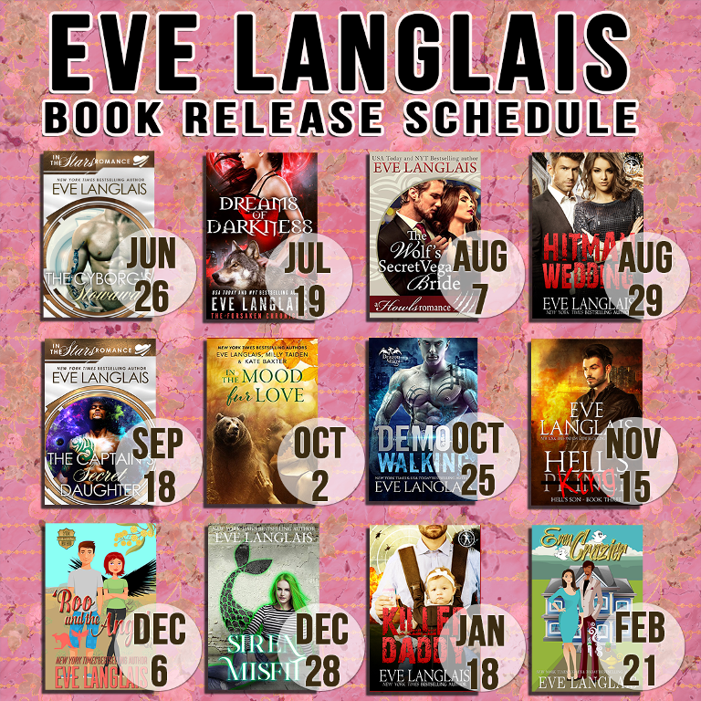 June: New Release Schedule – New York Times & USA Today Bestselling
