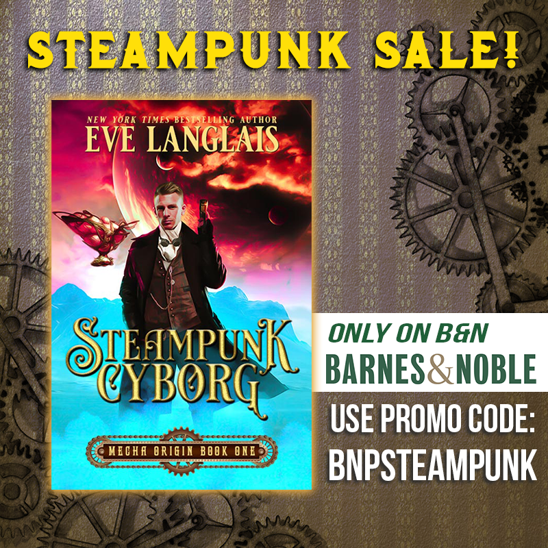 Steampunk Promo on Barnes and Noble – New York Times & USA