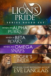Book Cover: A Lion's Pride #1